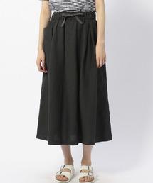 ORCIVAL(オーシバル)の【ORCIVAL】リネンギャザースカート WOMEN(スカート)
