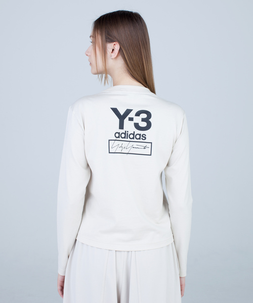 春新作の W LOGO STACKED LOGO LS TEE(Tシャツ LS/カットソー) STACKED|Y-3(ワイスリー)のファッション通販, TAKEYAオンラインショップ:3b145801 --- 5613dcaibao.eu.org