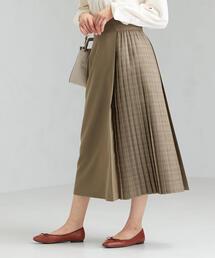 FM ブロッキング チェック スカート