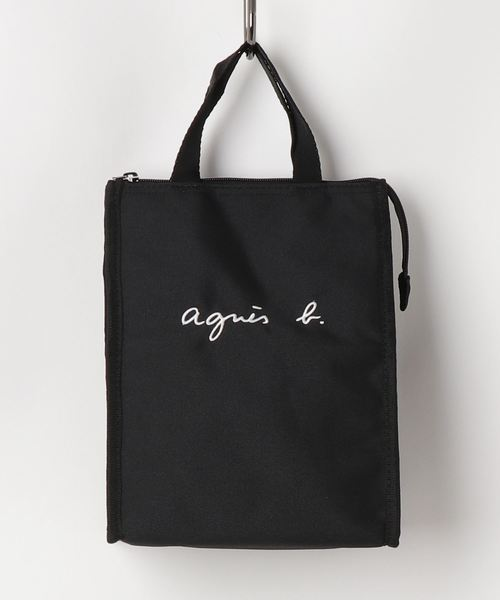 1c9f6dea5141d (アニエスベー)のGL11 E LUNCH BAG ロゴ刺繍 保冷ランチバッグ
