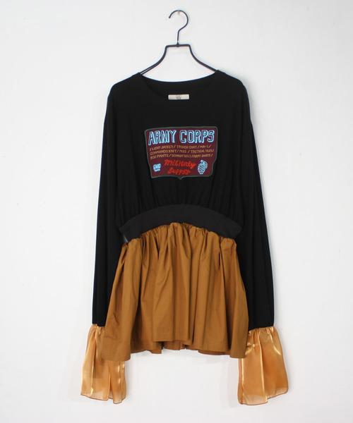 【おしゃれ】 2020春夏 ドッキングプルオーバー/ NON-20S-1-010(Tシャツ/カットソー)|NON NON TOKYO(ノントーキョー)のファッション通販, eモノショップ:43835499 --- 5613dcaibao.eu.org