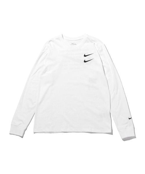 <NIKE> SWOOSH L/S TEE/Tシャツ