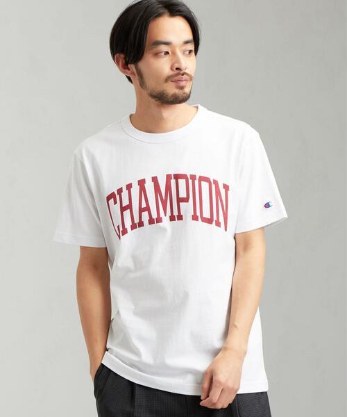 [ チャンピオン ] SC ★ CHAMPION ロゴ Tシャツ