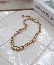 matt chain necklaceゴールド