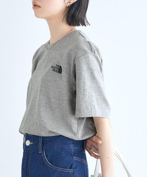 【THE NORTH FACE(ザ・ノースフェイス)】ロゴプリント半袖Tシャツ  BASIC COTTON S/S R/TEE