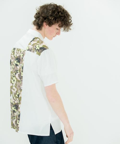 安い rehacer : Panel Flower Camo Shirt S/S, FRANK 暮らしの道具 1958b5cb