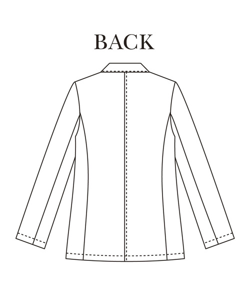 IEDIT シャツ感覚で柔らかにはおれる 軽やかエアリージャケット
