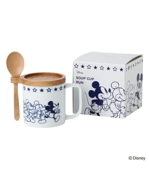 ディズニー スープカップ RUN
