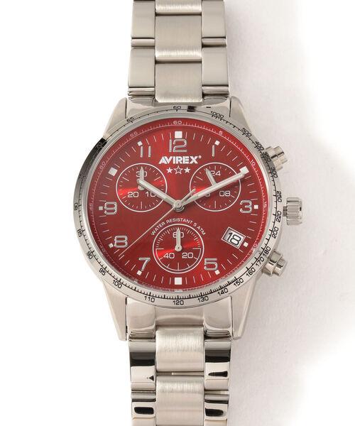 【SALE】 AVIREX/ アヴィレックス W/METAL/ クロノグラフ WATCH メタルバンド AVIREX/CHRONOGRAPH WATCH W/METAL BAND(腕時計)|AVIREX(アヴィレックス)のファッション通販, リフォーム本舗:d412b200 --- innorec.de