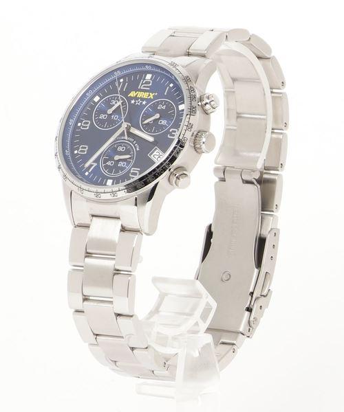 当社の AVIREX AVIREX/ WATCH アヴィレックス/ クロノグラフ メタルバンド W/METAL/CHRONOGRAPH WATCH W/METAL BAND(腕時計) AVIREX(アヴィレックス)のファッション通販, シンゴウムラ:8ab4d7bb --- innorec.de