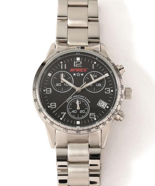 ★お求めやすく価格改定★ AVIREX/ アヴィレックス クロノグラフ WATCH/ クロノグラフ W/METAL メタルバンド/CHRONOGRAPH WATCH W/METAL BAND(腕時計)|AVIREX(アヴィレックス)のファッション通販, ヤススポーツ:15a7ccdf --- innorec.de