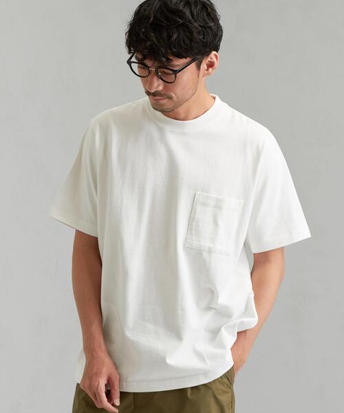 NM ★ ヘビーウェイト カラーZIP ポケット Tシャツ