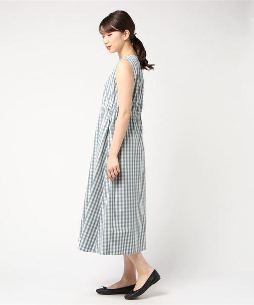 【Gymphlex】ノースリーブワンピース NTS WOMEN