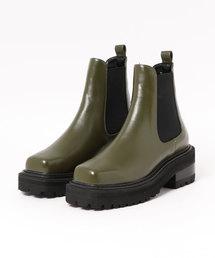 SLY(スライ)のSQUARE TOE BOOTS(ブーツ)