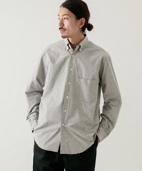特価商品  イージーフィットボタンダウンシャツ(シャツ/ブラウス)|WORK NOT RESEARCH,ワーク WORK WORK WORK URBAN RESEARCH(ワークノットワークアーバンリサーチ)のファッション通販, ラウドマウス専門店 LM style:c81efea9 --- pyme.pe