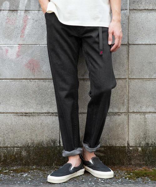 GRAMICCI (グラミチ)の「Mt Design 3776xGRAMICCI 別注デニムMountain Pants(デニムパンツ)」|ブラック