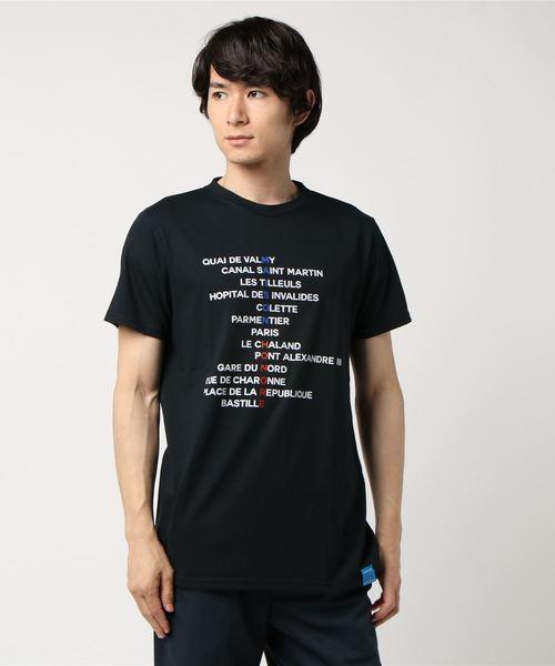 MAISON HONORE(メゾンオノレ)の「IVAN/BLACK(Tシャツ/カットソー)」|ブラック