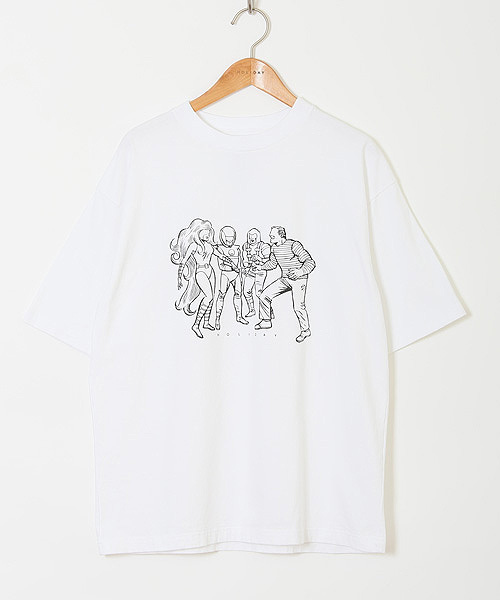 HOLIDAY(ホリデイ)の「SUPER FINE DRY T-SHIRT (HEROES) スーパーファインドライTシャツ (ヒーローズ)(Tシャツ/カットソー)」 ホワイト