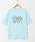 HOLIDAY(ホリデイ)の「SUPER FINE DRY T-SHIRT (HEROES) スーパーファインドライTシャツ (ヒーローズ)(Tシャツ/カットソー)」 サックスブルー