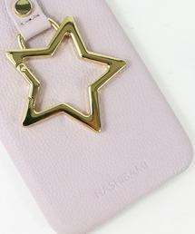 【 Hashibami / ハシバミ 】 # iPhone X/XS スマホ・携帯カバー リング付きケースラベンダー