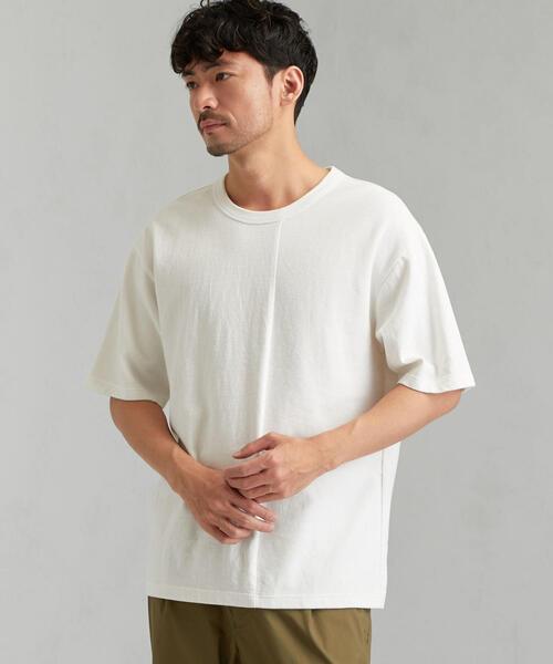 SC パターンド クルー 半袖 Tシャツ