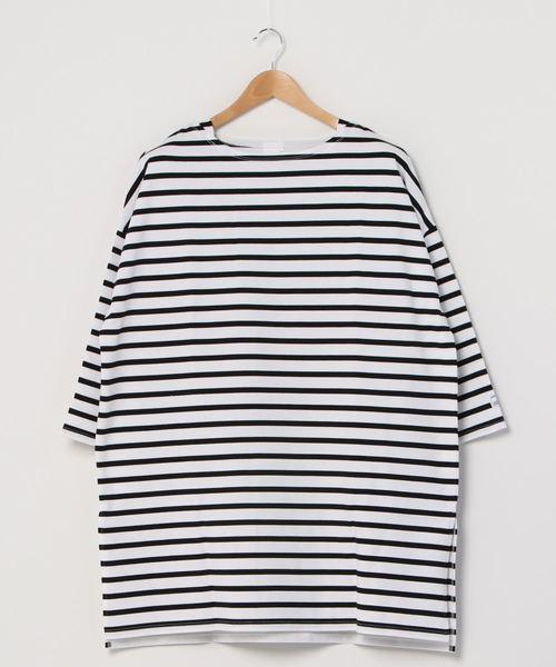 【 MONT KEMMEL / モンケメル 】BASQUE DRESS バスクドレス ボーダーTシャツ カットソー バスクシャツ  femme(レディース)