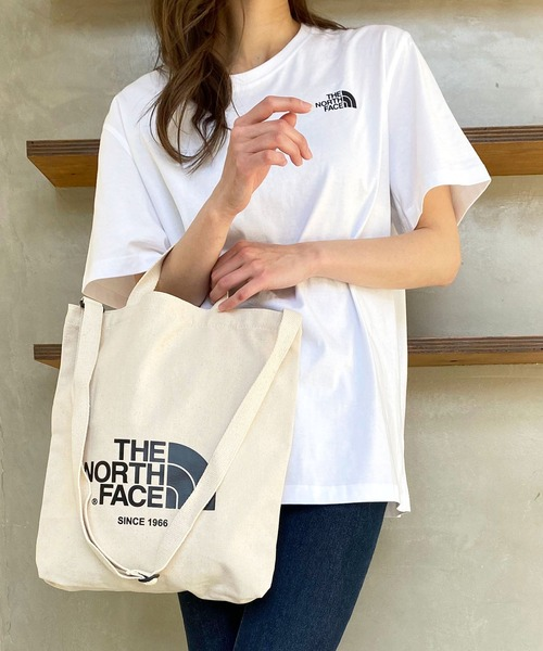 【THE NORTH FACE(ザ・ノースフェイス)】ロゴ入り3WAYバッグ(トートバッグ/ショルダーバッグ/ハンドバッグ) BIG LOGO TOTE BAG