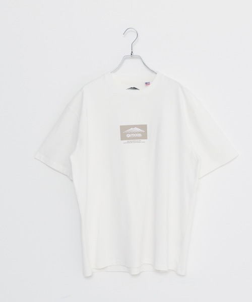 USAコットン ヘビーウェイトルーズシルエットロゴTシャツ