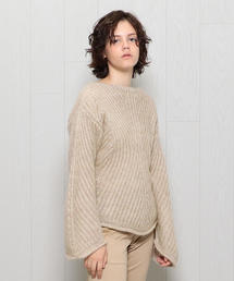 <SAYAKA DAVIS>MOHAIR PATTENED KNIT/ニット