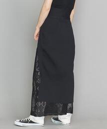 <TAN>ロングテールニットスカート ◆