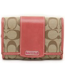 big sale 28401 77580 ブランド古着】COACH|コーチ(レディース)の財布(二つ折り ...