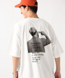 RAGEBLUE(レイジブルー)の【Mark Gonzales/マークゴンザレス】別注プリントTシャツ/846400(Tシャツ/カットソー)
