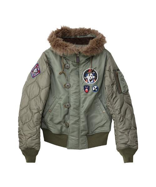 TRIANGLE WOMAN リメイクN-2Bジャケット