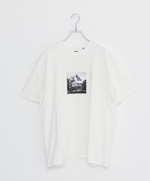 USAコットン ヘビーウェイトフォトロゴビッグシルエットTシャツ