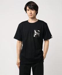CITY CAMO POCKET SHARK TEE M(Tシャツ/カットソー)