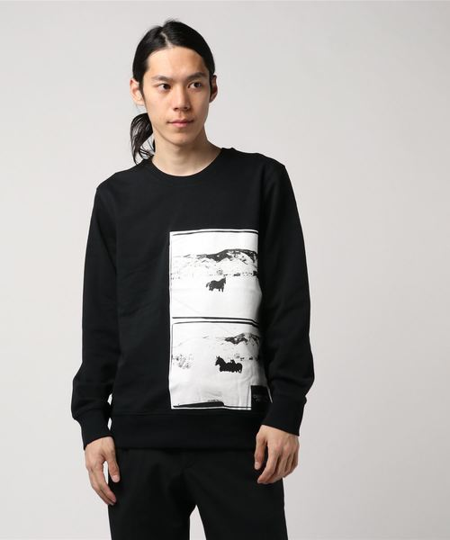 【CALVIN KLEIN JEANS】 ANDY WARHOL フォト アート スウェット シャツ