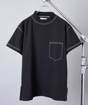 "INTER FACTORY | Fashion media ""Shiyoh"" × INTER FACTORY Higt neck stitch Tee/ハイネック ステッチTシャツ(Tシャツ・カットソー)"