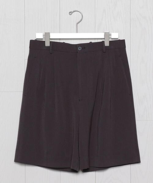 <H>BLUSHD SATIN 2P SHORT PANTS/パンツ