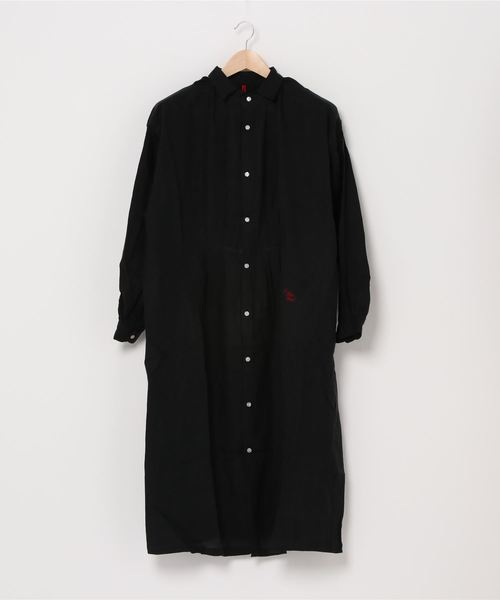 【 Le sans Pareil / ルサンパレイユ 】LINEN BIAUDE SHIRT DRESS リネン ビヨード シャツドレス