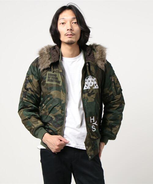 HYS 84 パッチ リメイクN-2Bジャケット