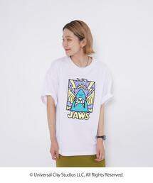 """【ユニセックス】コーエンベア× """"JAWS"""" コラボプリントTシャツ"""