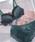 PEACH JOHN(ピーチジョン)の「YMシンプルサテンブラセット(ブラ&ショーツ)」|グリーン