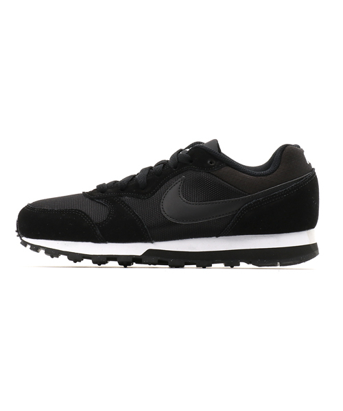 NIKE WMNS MD RUNNER 2 (BLACK/BLACK-WHITE) 【SP】