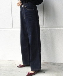 AZUL ENCANTO(アズールエンカント)の【消臭効果】【XS〜XL 5サイズ展開】ワイドデニムパンツ(デニムパンツ)
