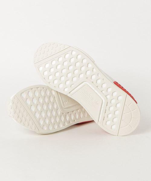 adidasアディダス NMD_R1 エヌエムディー B37619 18FA WHT/WHT/RED