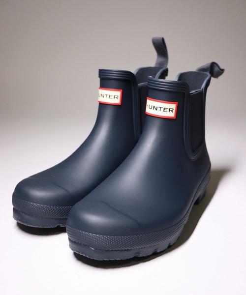 【HUNTER】ORIGINAL CHELSEA ハンター オリジナル チェルシー 長靴 レインブーツ womens