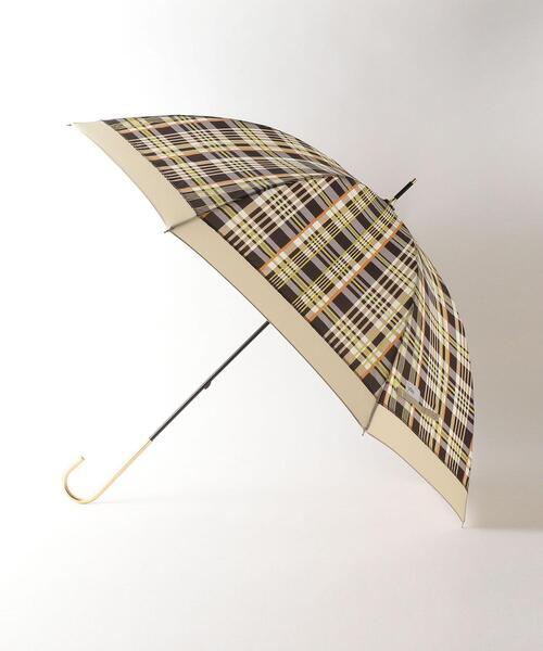 <Wpc.(ダブリュピーシー)>トラッドチェック 長傘