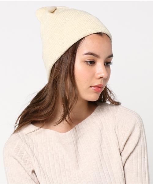 collex(コレックス)の「Glen Fyne ニット帽(ニットキャップ/ビーニー)」|ホワイト
