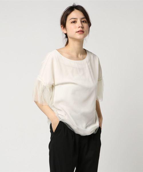 チュールTシャツ・カットソー