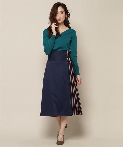 人気が高い 【セール】サイドバックル巻き風スカート(スカート)|Swingle(スウィングル)のファッション通販, シューズダイレクト:36c01646 --- svarogday.com